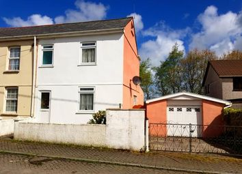 Thumbnail 3 bedroom semi-detached house for sale in Bugle, St Austell, Cornwall