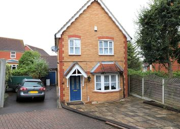 Thumbnail 3 bed detached house for sale in Bark Burr Road, Chafford Hundred, Grays