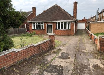 Thumbnail 3 bed detached bungalow to rent in Humberstone Lane, Thurmaston, Leicester
