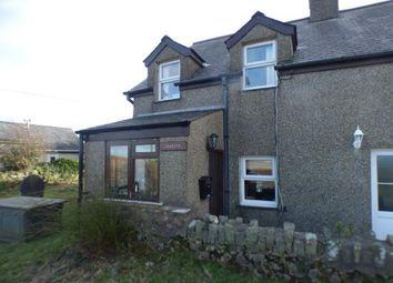 Thumbnail 2 bed end terrace house for sale in Ceidio, Pwllheli, Gwynedd
