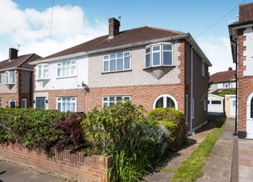 Thumbnail 3 bed semi-detached house for sale in Garry Way, Romford