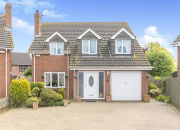 Thumbnail 4 bed detached house for sale in Walsoken, Wisbech, Cambs