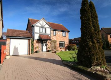 Thumbnail 3 bed detached house for sale in Burwell Road, Eaton Ford, St. Neots