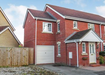 Thumbnail 4 bedroom semi-detached house for sale in Foxglove Way, March