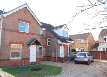 Thumbnail 2 bed semi-detached house to rent in Fox Covert, South Hykeham, Lincoln