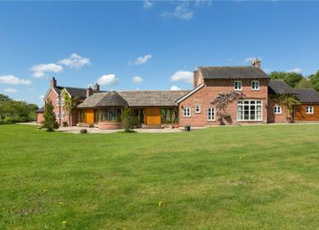 Thumbnail 5 bedroom equestrian property for sale in Marton Lane, Gawsworth, Macclesfield, Cheshire