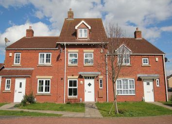 Thumbnail 3 bedroom terraced house to rent in Rivelin Park, Kingswood, Hull