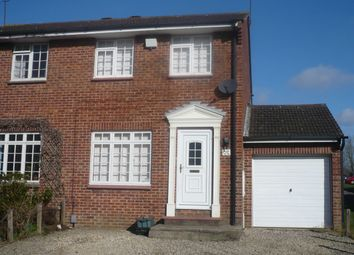 Thumbnail 2 bed terraced house for sale in Glenmore Road, Carterton, Oxfordshire