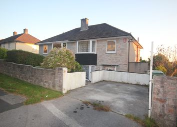 Thumbnail 3 bed semi-detached house to rent in Budshead Road, Crownhill, Plymouth