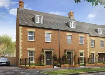 "Thumbnail 4 bed town house for sale in ""The Appletree Link "" at Heathencote, Towcester"