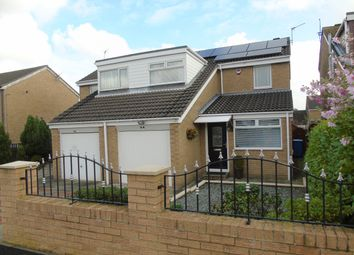 Thumbnail 3 bedroom semi-detached house for sale in Bamburgh Drive, Pegswood, Morpeth