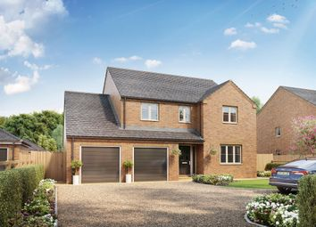 Thumbnail 4 bed detached house for sale in Worlds End Road, Tydd St. Mary, Wisbech