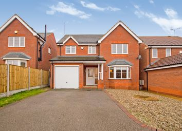 Thumbnail 4 bed detached house for sale in Primrose Way, Clipstone Village, Mansfield