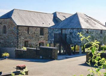 Thumbnail 4 bed barn conversion for sale in St Mellion, Cornwall
