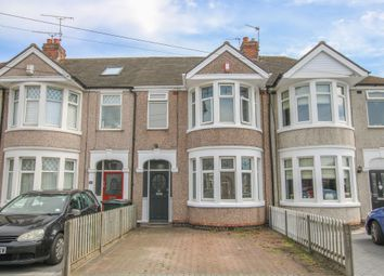 Thumbnail 3 bed terraced house to rent in Mapleton Road, Coventry