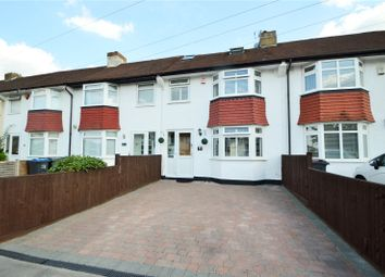 Thumbnail 4 bed terraced house for sale in Chaffinch Avenue, Croydon