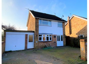 Thumbnail 4 bed detached house for sale in Saxons Rise, Ratby