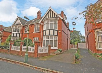 Thumbnail 6 bed semi-detached house for sale in Marlborough Road, St. Leonards, Exeter