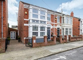 Thumbnail 4 bedroom semi-detached house for sale in Torrington Road, Portsmouth