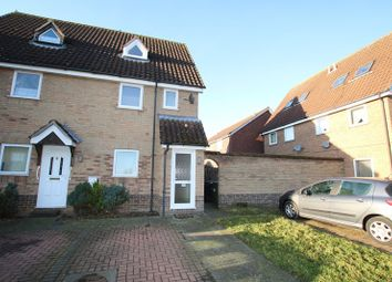 Thumbnail 1 bed maisonette for sale in Yew Tree Road, Attleborough