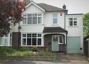 Thumbnail 4 bedroom semi-detached house to rent in Windborough Road, Carshalton On The Hill, Carshalton, Surrey