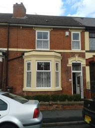 Thumbnail 4 bed terraced house to rent in Newhampton Road East, Wolverhampton