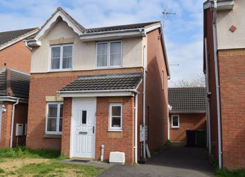 Thumbnail 4 bed detached house for sale in Swan Gardens, Peterborough