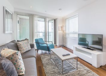 Thumbnail 2 bedroom flat to rent in Duckman Tower, 3 Lincoln Plaza, London