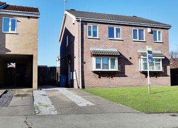 Thumbnail 2 bedroom semi-detached house for sale in Broadley Close, Hull