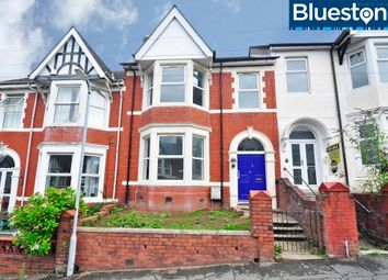 Thumbnail 4 bed terraced house for sale in Richmond Road, Newport, South Wales
