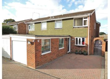Thumbnail 5 bed semi-detached house for sale in Trelawn Crescent, Chatham