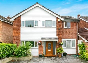 Thumbnail 4 bedroom detached house for sale in Redcar Close, Hazel Grove, Stockport, Cheshire