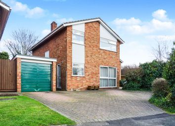 Thumbnail 4 bed detached house for sale in Hereward Way, Peterborough