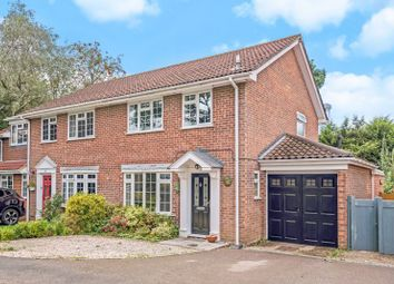 Thumbnail 3 bed semi-detached house for sale in Glen Close, Beacon Hill, Hindhead