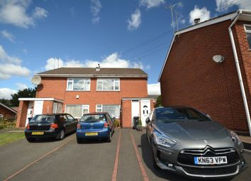 Thumbnail 1 bed flat to rent in Sandstone Close, Dudley