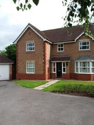 Thumbnail 4 bedroom detached house to rent in Swan Close, Stafford