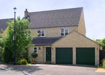 Thumbnail 4 bed detached house to rent in Swansfield, Lechlade