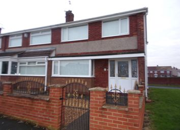 Thumbnail 3 bedroom terraced house for sale in Brierley Close, Blyth
