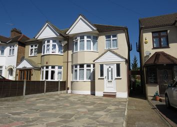 Thumbnail 3 bed semi-detached house for sale in Gorseway, Rush Green, Romford