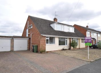 Thumbnail 3 bed semi-detached bungalow to rent in Riverview Close, Worcester