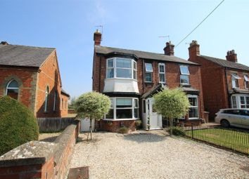Thumbnail 3 bed semi-detached house for sale in Chestnut Street, Ruskington, Sleaford
