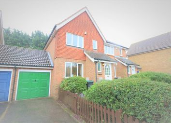 Thumbnail 3 bed semi-detached house for sale in Richmond Drive, Gravesend