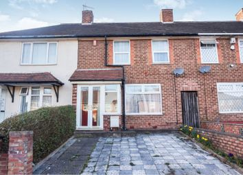 Thumbnail 3 bedroom terraced house for sale in Church Lane, Birmingham