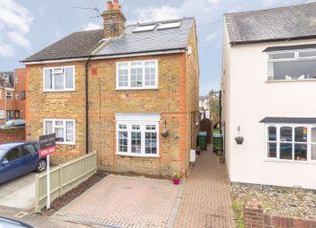 Thumbnail 4 bed semi-detached house for sale in Sunbury Lane, Walton-On-Thames