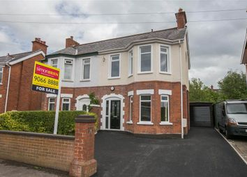 Thumbnail 3 bed semi-detached house for sale in 8, Cicero Gardens, Belfast