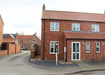 Thumbnail 2 bedroom semi-detached house for sale in North Road, Tetford, Horncastle, Lincolnshire