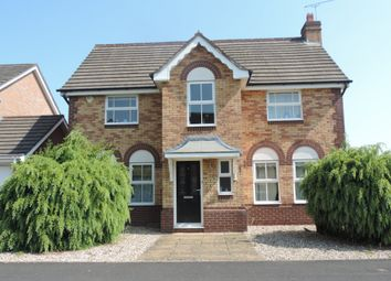 Thumbnail 4 bed detached house for sale in Rouse Close, Stafford