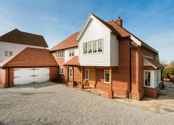 Thumbnail 4 bed detached house for sale in Church Hill School Mews, Hernhill, Faversham