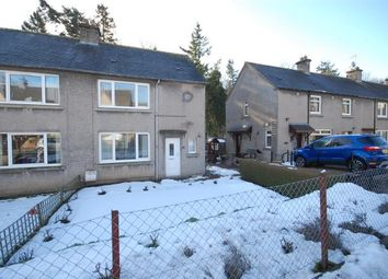 Thumbnail 2 bed semi-detached house to rent in 47 Balmoral Avenue, Galashiels