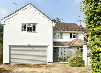 Thumbnail 4 bed detached house for sale in Hollis Wood Drive, Wrecclesham, Farnham
